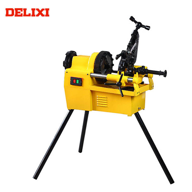 "pipe plumbing DLX50C 1/2"" To 2"" 900W Electric Threading Machine Pipe Threader"