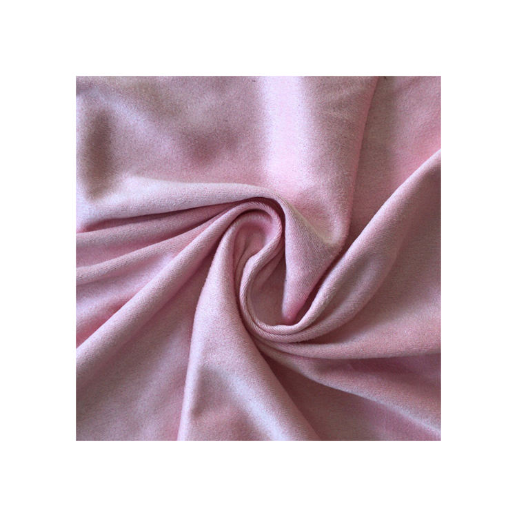 China direct textile factory polyester spandex dazzle velvet fabric wholesale elastic brushed tricot fabric for cloth