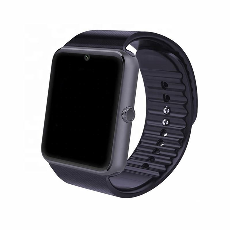 GT08 Bluetooth Smart Watch 와 Touch Screen 큰 배터리 Support TF Sim Card 카메라 대 한 IOS iPhone 안드로이드 폰