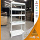 CKD multi tier stainless steel kitchen storage shelf / rack / metal shelves