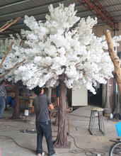white artificial trees cherry blossoms for decoration artificial trees