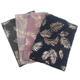 High Quality New Leaves Infinity Scarf Beautiful Wholesale Infinity Silver Gold Print Foil Leaf Scarf Animal Printed Scarf
