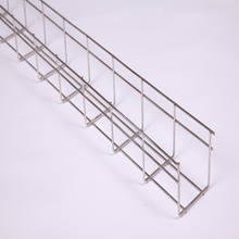 For indoor Projects usage Professional Steel Wire Mesh Cable Tray