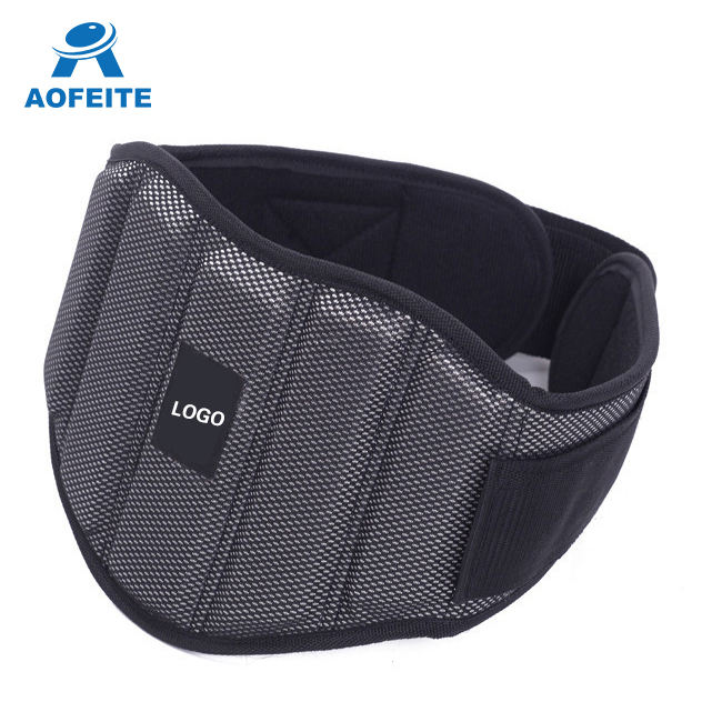 Sports Exercise Weigh Power Back Support Straps Wraps for Lifting