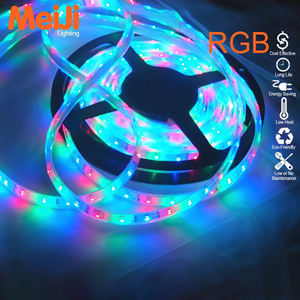 Zhongshan meiji lighting high quality smd rgb color led strip 3528 12v with 2 years warranty