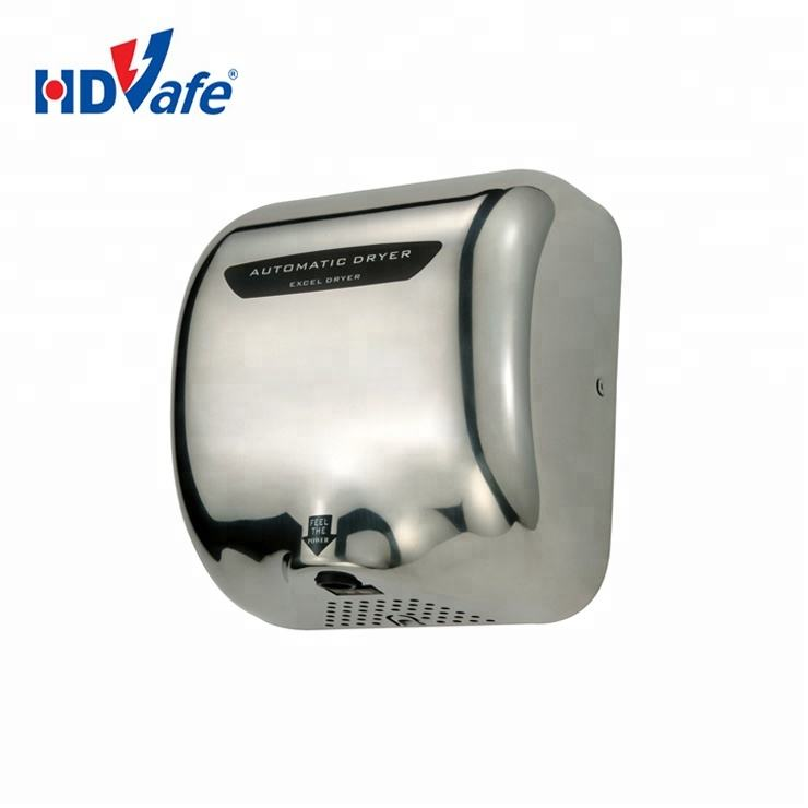Stainless Steel Cover High-Speed Hand Dryer (110V/220V) for Construction Company