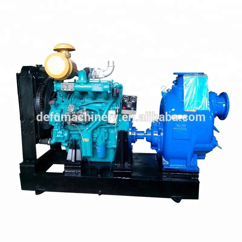 Factory Price 6 Inch 40hp Diesel Engine Water Pump For Agricultural Irrigation