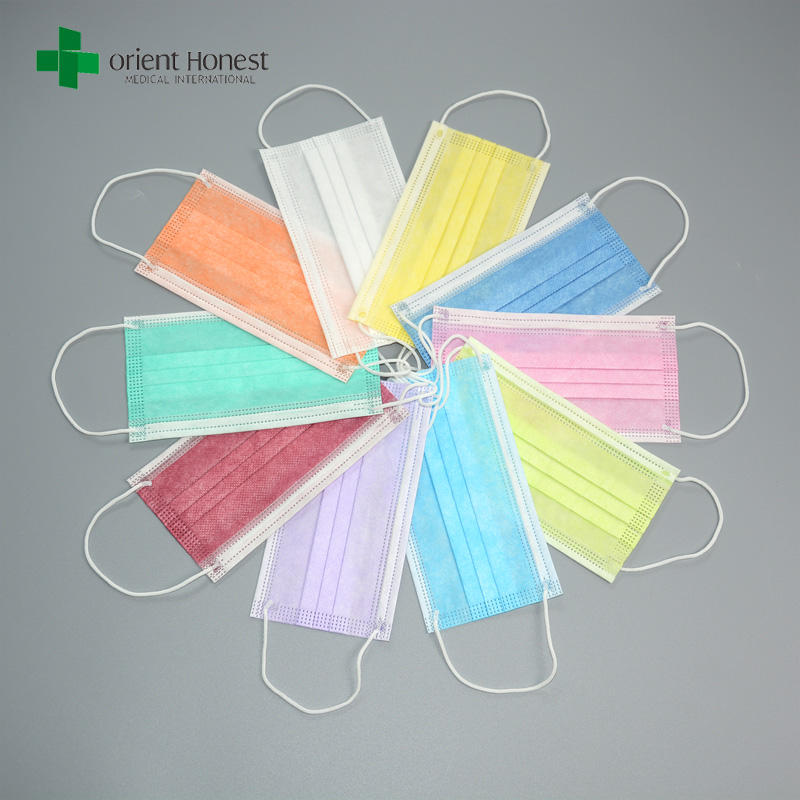 Supply all kinds of masks disposable non woven surgical masks
