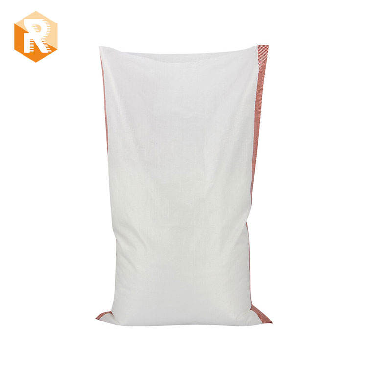 White pp woven bags,fertilizer seed packaging and flour bag 50kg