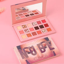 Wholesale Beauty Makeup Not Blooming Eye Shadow Palette 18 Color Eyeshadow