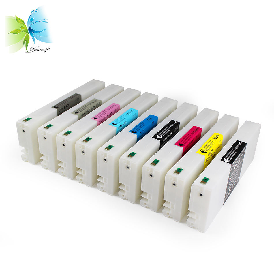 9 Color 700ml Bulk full compatible ink cartridge For Epson 7890 9890