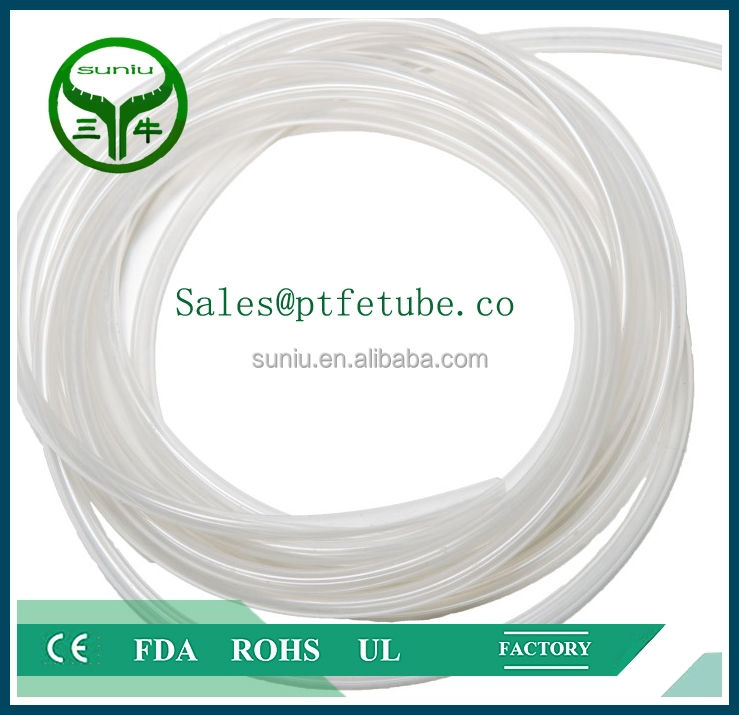 Corrugated and Convoluted PTFE, PFA or FEP Tubes & Pipes