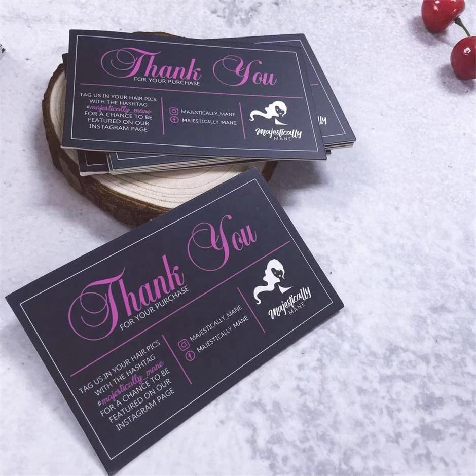 Custom thank You Cards For Wedding Or Birthday, Thank You Cards,business card