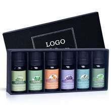 Private Label Aromatherapy Oils Top 6 Gift 100% Pure Essential Oil Set