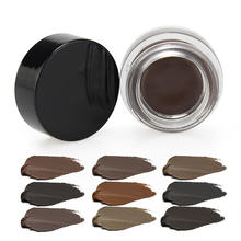 10 color Wholesale eyebrow pomade gel Long lasting waterproof brow pomades eyebrow gel private label