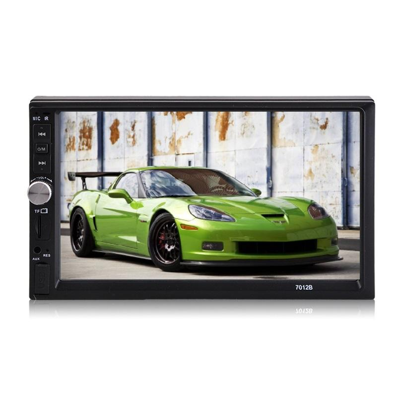 "2 Din Auto Radio 7 ""Ondersteuning video MP5 MP3/WMA/OGG/APE/AAC/FLAC /WAV Formaat HD Touch Screen Auto Dvd Speler"