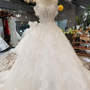 LS07332 wedding dress real pictures dresses women lady elegant party real sample lace wedding dress