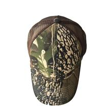 Custom Men's Outdoor Camouflage  Mesh Camo Trucker Hat Cap With Embroidery Logo