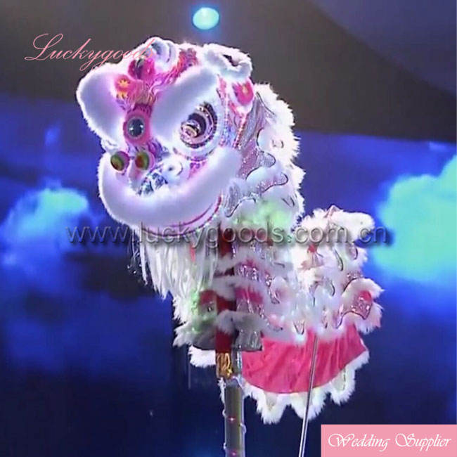 Wholesale festival decoration high quality led light lion costume