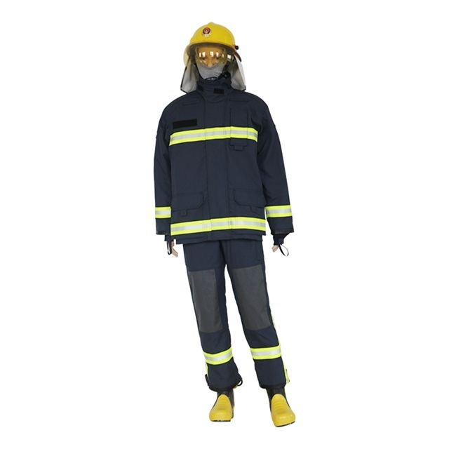 Flame-retardant firemen uniform for personal protective equipment