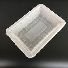 High quality disposable Frozen Food PP Plastic Packing Trays For Meat