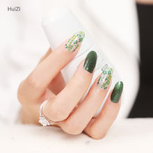 Huizi 2020 nail stickers jamberry nail wraps water transfer printing paper