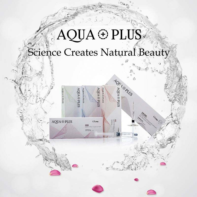 AQUA Cộng Với Y Tế Cấp 2Ml HA Phụ Injectable Hyaluronic Axit Với CE/ISO
