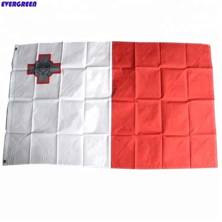 3*5ft Malta country polyester flags printing