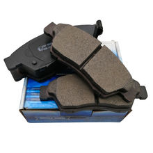 high performance brake pad for chery tiggo with color brand packing boxes