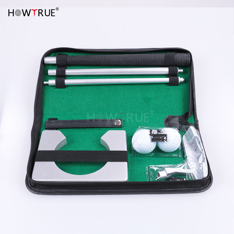 pu box classical executive office golf putter gift set