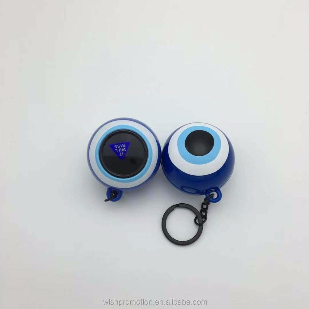 customer magic 8 ball with keychain for promotion