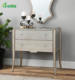 Modern beauty home decorative 2 Drawers mirrored chest
