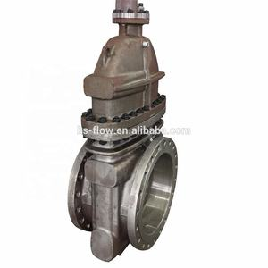 API 600 36 inch 600 lb gear operated flange stem gate valve with pricesstainless steel
