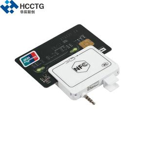 Portable Audio Jack EMV Mobile Magnetic NFC Smart Card Reader With IOS Android SDK ACR35