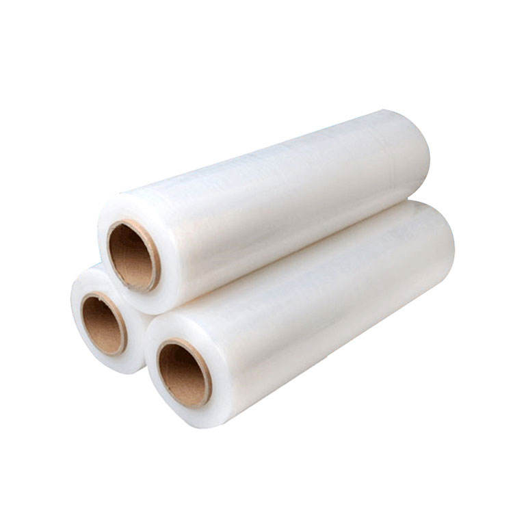 Transparent <span class=keywords><strong>500mm</strong></span> 1420ft 15 microns lldpe main <span class=keywords><strong>film</strong></span> <span class=keywords><strong>étirable</strong></span> pour palette
