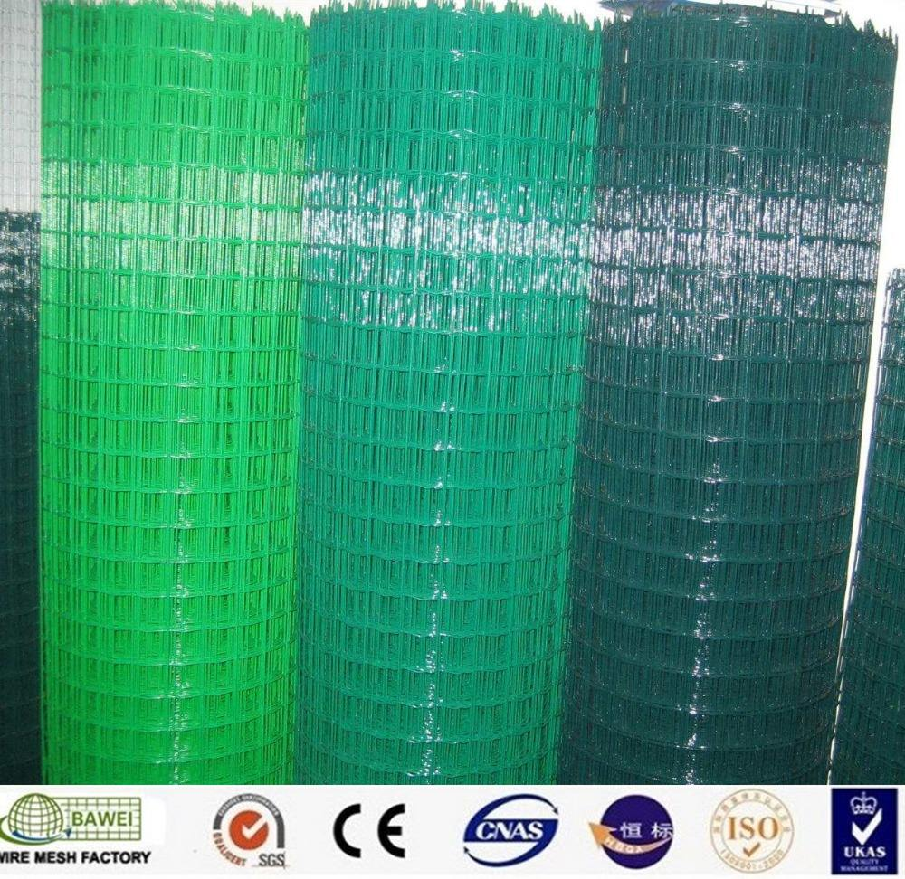 PVC black coated welded mesh farm used galvanized iron wire on sale