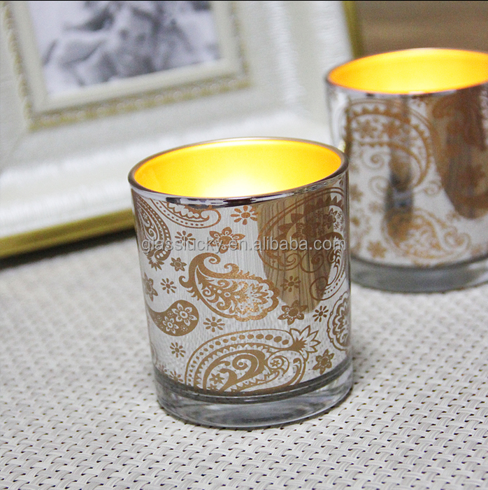 gold mercury glass votives wholesale for home decoration,mercury glass,mercury glass candle holders