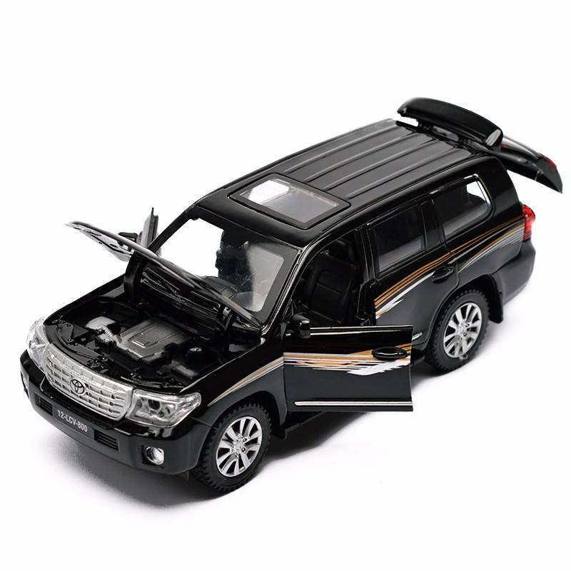 Land Cruiser kit modelo de carro DieCast 1:32