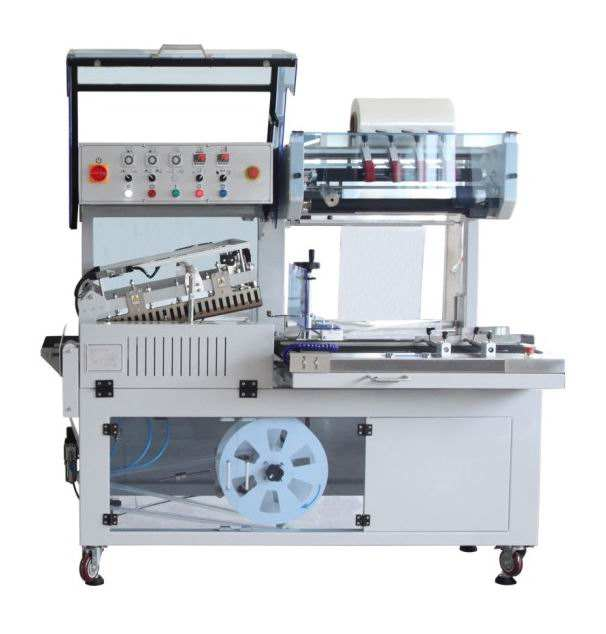BSF-5640LG Hualian Automatic Packaging Wrap PVC Film Packing L Bar Sealer Side Sealing Heat Shrink Wrapping Machine
