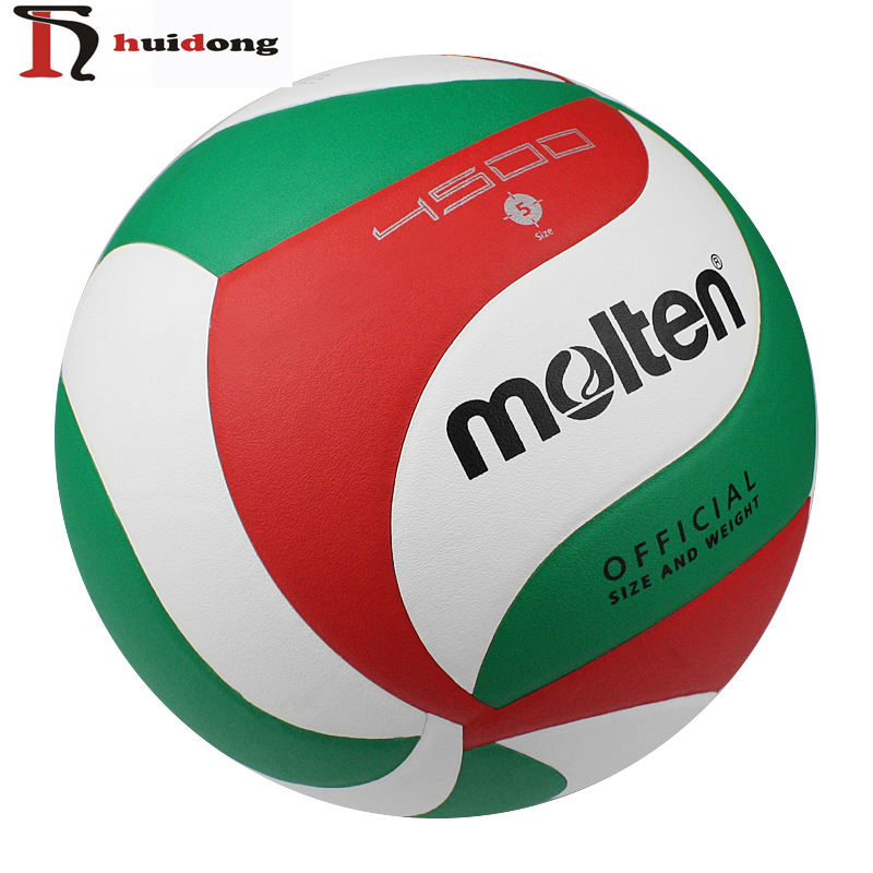 Wholesale Professional Micro fiber PU Size 5 Customized Molten volleyball 4500 Indoor Outdoor