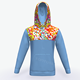 Fashion Design Hooded Pullover Men's Sports Baseball Hoodie