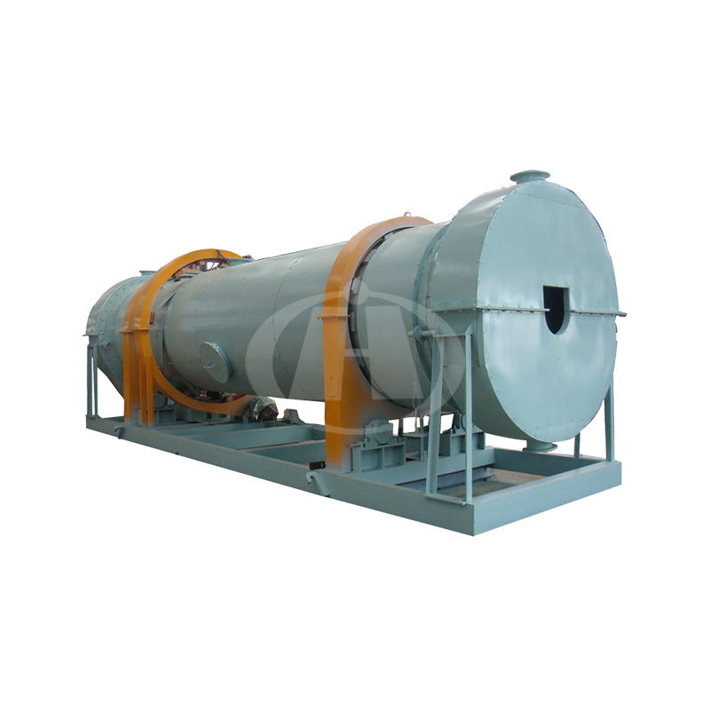 China High Efficiency Sludgy Sawdust Fertilizer Compost Rotary Drum Dryer