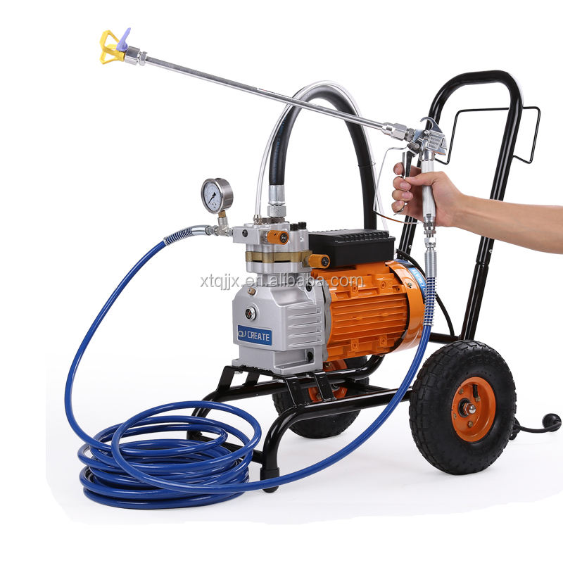 New high pressure airless putty spraying machine