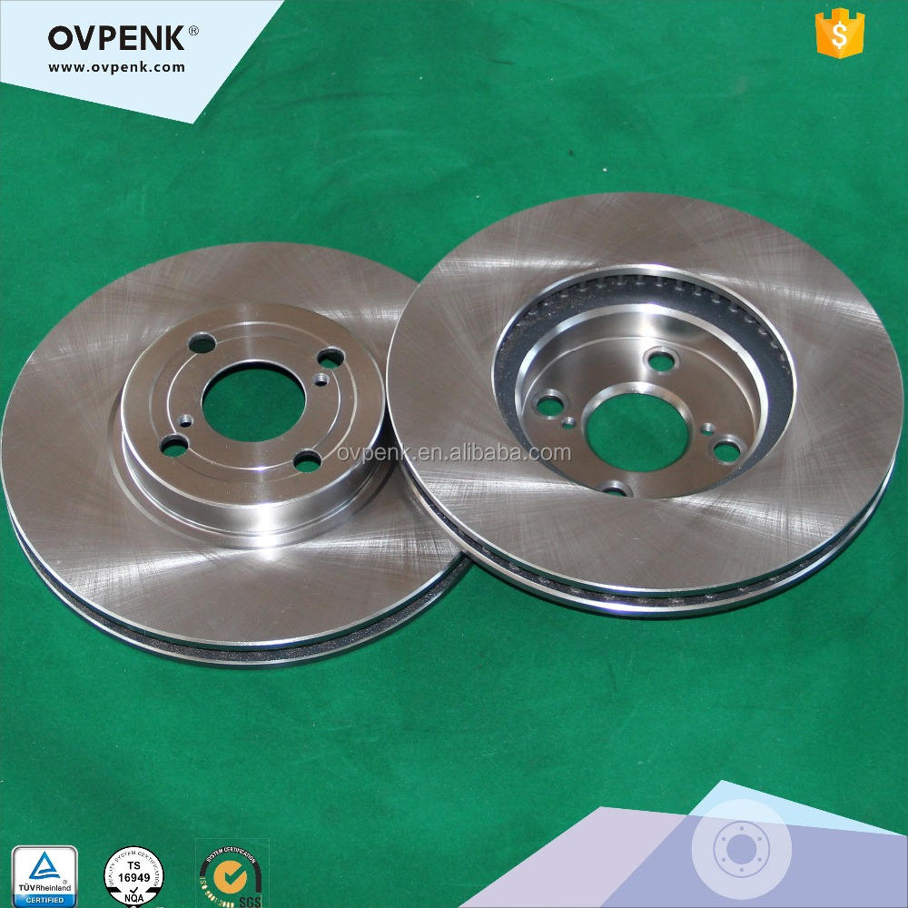 High perfomance Front Ovpenk Brake disc For Toyota Corolla 06 Big 275MM(E12U/E12J/E12T) EX
