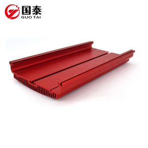 High quality no aluminum extrusion 6063 scrap alloy heat sink aluminum extrusion profiles best price from China
