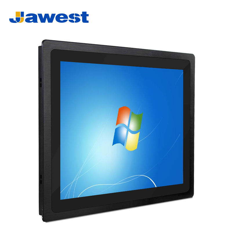 Jawest Fanless Embedded Computer Intel Celeron J1900 Quad Core DDR3L Dual Hard Disk Industrial rugged laptop