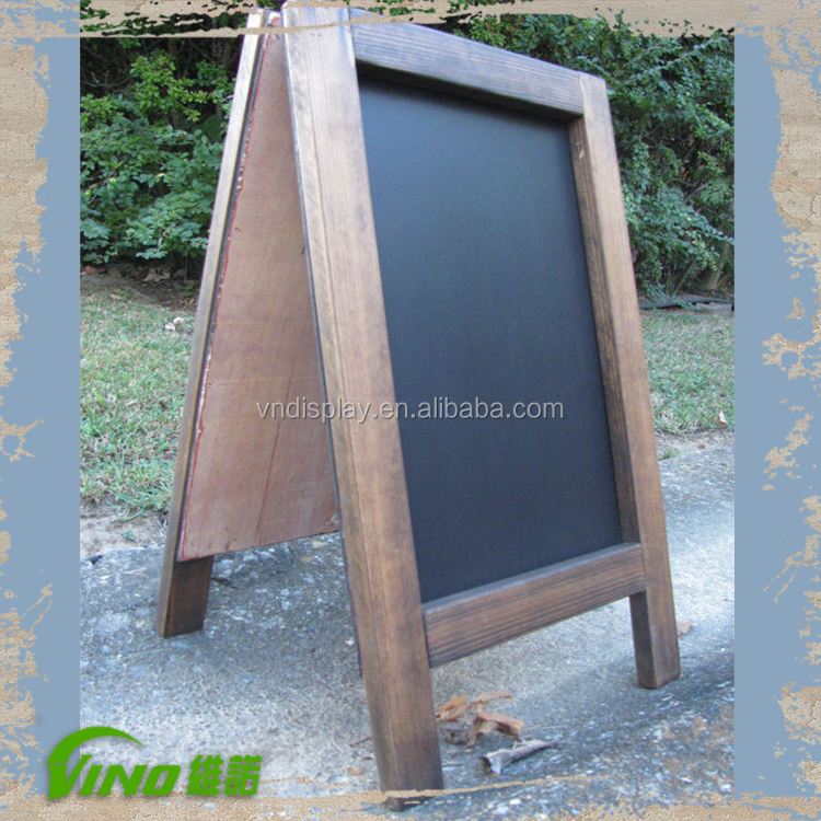 Outdoor sidewalk Board , Chalkboard and Easel , promotional beer signs , Movable Blackboard