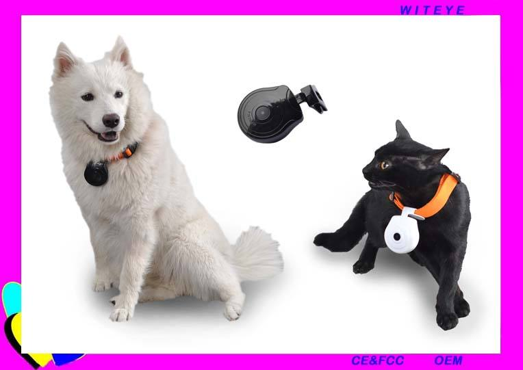 smart pet camera Mini Pets Video View Collar Camera Record Pet Activity
