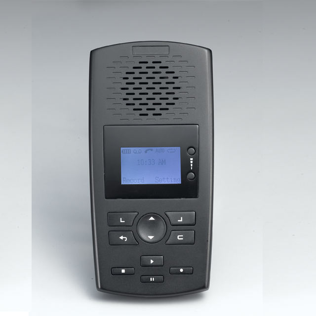 phone call recorder sd card 560hours recording time, recording announcement