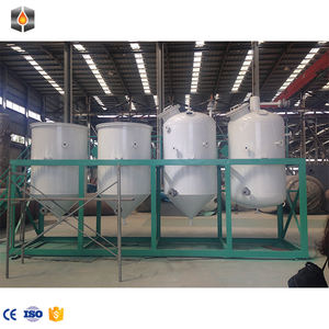 20 T P D palm oil fractionation Copra crude coconut refinery plant soybean oil refining machine